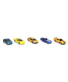 Maisto Die Cast Metal Kruzerz Toy Cars Pack of 5 - Multi Color