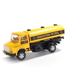 Centy Pull Back Telco Toy Tanker - Yellow