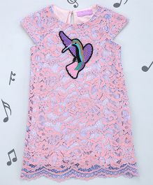 One Friday Girls A Line Lacie Dress - Pink