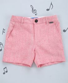 One Friday Boys Formal Shorts - Light Pink