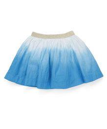 Pinehill Dual Shade Skirt - Blue