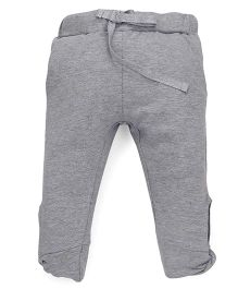 Pinehill Full Length Solid Color Lounge Pant - Grey