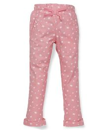 Pinehill Printed Jeggings - Pink
