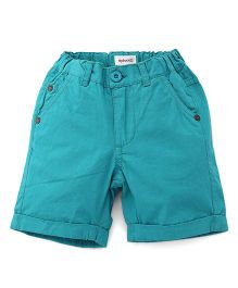 Pinehill Shorts - Dark Aqua Blue