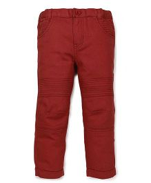 Pinehill Full Length Pants - Brick Red