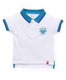 Pinehill Half Sleeves Polo Tee - White