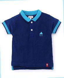 Pinehill Half Sleeves Polo Tee - Navy