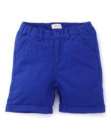Pinehill Plain Shorts - Electric Blue