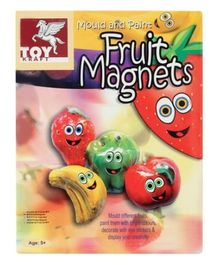 Toy Kraft - Mould and Paint Fruit Magnets