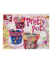 Toy Kraft - Candles From Pretty Pots