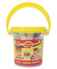 Imagician Playthings Craftival Imagi Doh Fun Bucket - Yellow