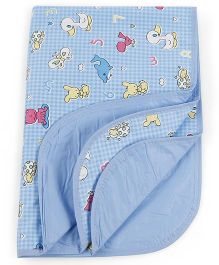 Mee Mee Changing Mat Bear Print - Blue