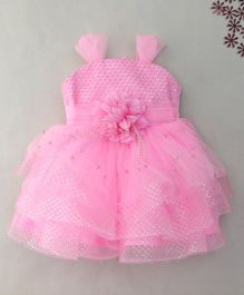 M'Princess Elegant Design Party Frock - Pink