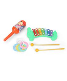 Ratnas Musical Rattle Set Pack of 3 - Multicolour