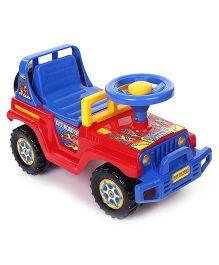 Shadilal Sunway Manual Push Ride On - Blue Red