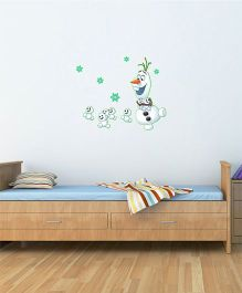 Disney Frozen Olaf Glowing Wall Decal - White by L'Orange