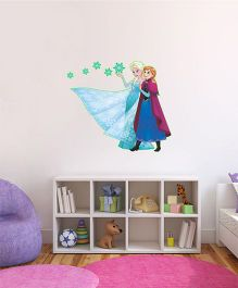 Disney Frozen Elsa & Anna Glowing Wall Decal - Blue Pink by L'Orange