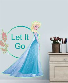 Disney Frozen Elsa Let it Go Glowing Wall Decal - Blue by L'Orange