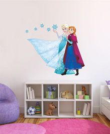 Disney Frozen Elsa And Anna Wall Decal - Blue Pink by L'Orange