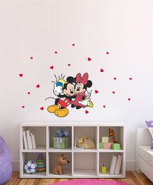 Mickey And Minnie Selfie Wall Decor - Red And Pink by L'Orange