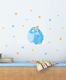 Disney Princess Cindrella Wall Decal - Blue by L'Orange