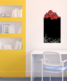 Marvel Spiderman Chalkboard Wall Decal Medium - Red Black by L'Orange