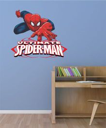 Marvel The Ulitmate Spiderman 2 Wall Decal Large - Red Blue by L'Orange