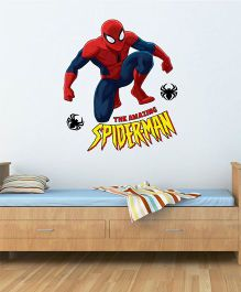 Marvel The Amazing Spiderman Wall Decal Large - Red by L'Orange