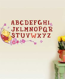 Disney Winnie The Pooh Alphabet Wall Decal Large - Multi Color by L'Orange