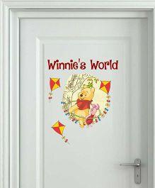 Disney Winnie The Pooh Winnie's World Medium - Yellow by L'Orange