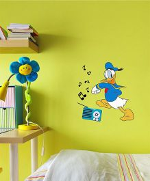 Disney Donald Duck Loves Music Wall Decal Small - Blue by L'Orange