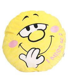 Starwalk Miss U Face Plush Soft Toy - 35 cm