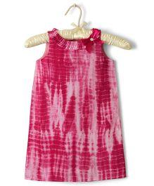 Nitallys Batik Printed Dress - Pink