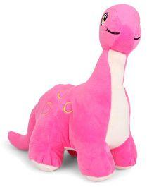 Starwalk Baby Dinosaur Plush Pink Soft Toy - 25 cm