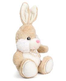 Starwalk Bunny Soft Toy With Bow Beige - 29 cm