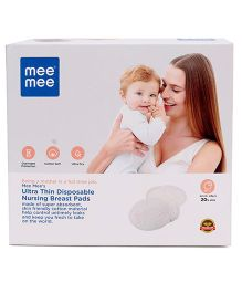 Mee Mee Premium Disposable Ultra Thin Nursing Pads- 48 Pieces