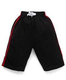 Ollypop Track Shorts - Black
