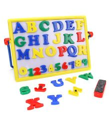 Ratnas Magnetic Alphabets And Numeric Cum Writing Board - Multicolor