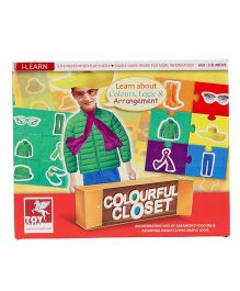 Toy Kraft Color Closet Puzzle - Multicolor