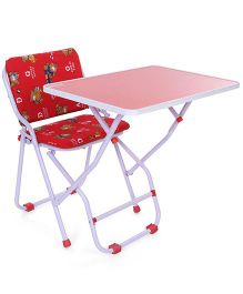 Mothertouch Wonder Study Table - Red