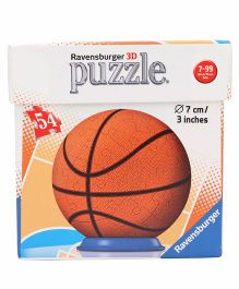 Ravensburger Sportsball 3D Puzzle Orange - 54 Pieces