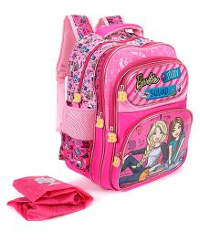 Barbie Squad School Bag Pink - 16 inches