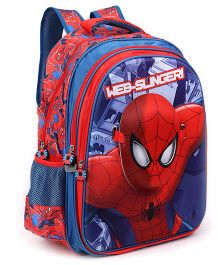 Marvel Spiderman With Face Mask School Bag 18 inches