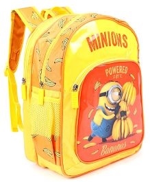Minions Kevin School Bag Yellow Orange - 14 inches