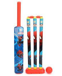 Marvel Spider Man Cricket Set - Blue And Red