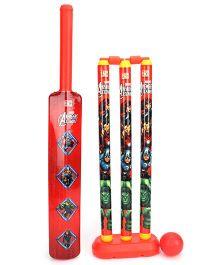 Marvel Avengers Cricket Set - Red