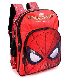 Marvel Spiderman Homecoming School Bag Red - 16 inches