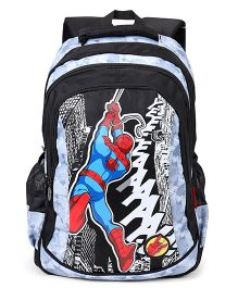 Marvel Spiderman School Bag Black - 19 Inch