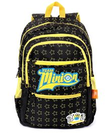 Minions School Bag Black & Yellow - 19 Inch