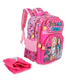 Barbie Squad Pink School Bag 14 inches